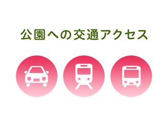 公園への交通アクセス