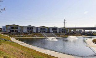 柏の葉スマートシティ2号調整池高質化整備工事