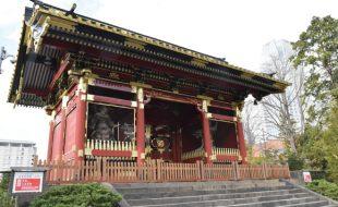 重要文化財有章院霊廟 二天門周辺整備