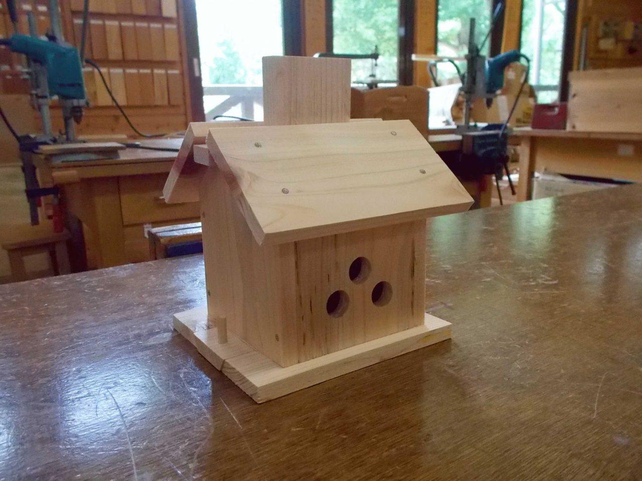 【募集終了】木の家の貯金箱づくり