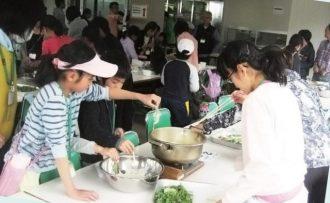 主催イベント:山菜クッキングの画像